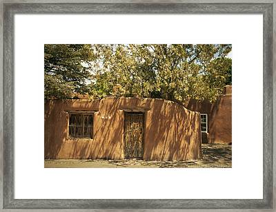 New Mexico Facade # 2 Framed Print