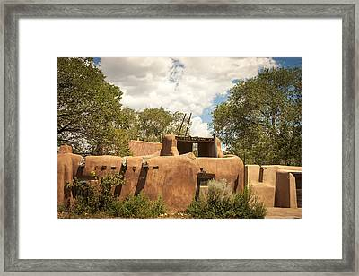 New Mexico Facade # 3 Framed Print