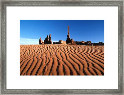 New Mexico Monument Valley  Framed Print by Anonymous