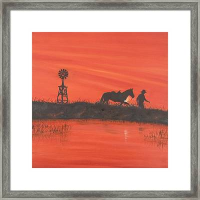 New Mexico Framed Print