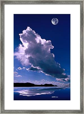 New Mexico Sky Framed Print by Jerry McElroy