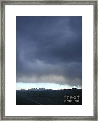New Mexico Storm Framed Print