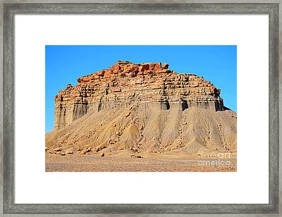 New Mexico Topography Framed Print