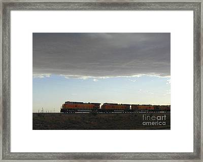 New Mexico Train Framed Print