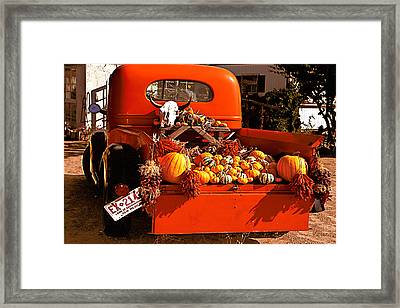 New Mexico Truck Framed Print by Jean Noren