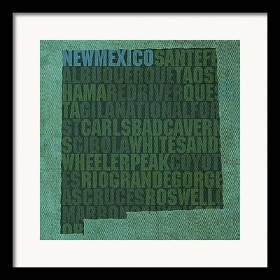 Sante Fe Framed Prints
