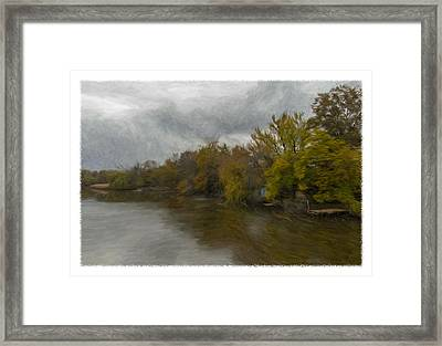 New Milford By Water Side Framed Print