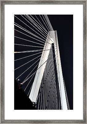 New Mississippi River Bridge Framed Print