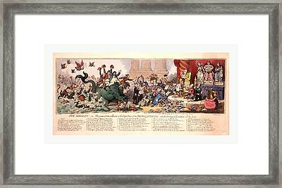 New Morality Or The Promisd Installment Of The High-priest Framed Print