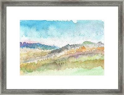 New Morning Framed Print by Linda Woods