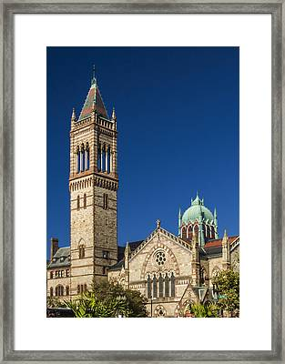 New Old South Church Framed Print