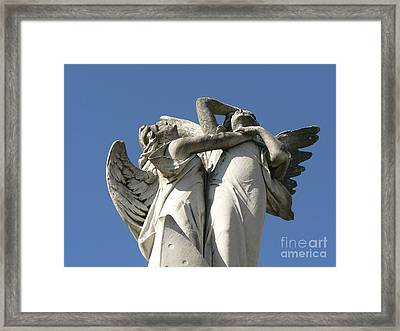 New Olreans Angel 6 Framed Print by Elizabeth Fontaine-Barr