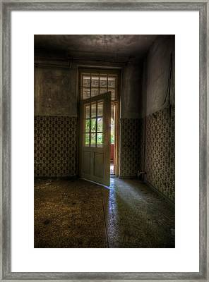 New Opportunity's  Framed Print by Nathan Wright