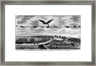New Orleans, 1803 Framed Print by Granger