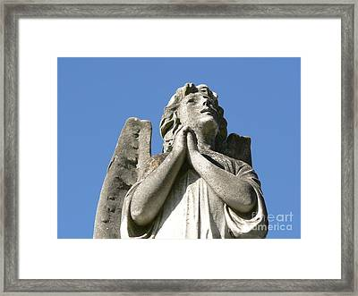 New Orleans Angel 4 Framed Print by Elizabeth Fontaine-Barr