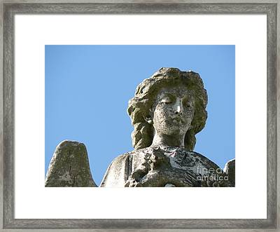 New Orleans Angel 7 Framed Print by Elizabeth Fontaine-Barr