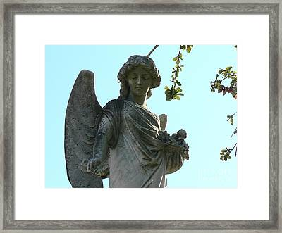 New Orleans Angel 8 Framed Print by Elizabeth Fontaine-Barr