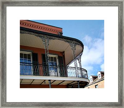 New Orleans Balcony Framed Print by Eva Kato