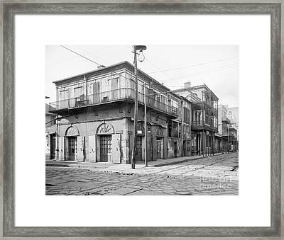 New Orleans: Bar, C1905 Framed Print by Granger