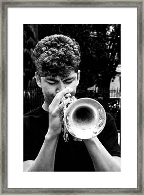 New Orleans Blues Framed Print by Andy Crawford