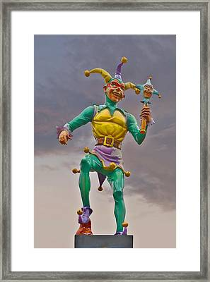 New Orleans - Canal Street Ferry Jester Framed Print by Christine Till