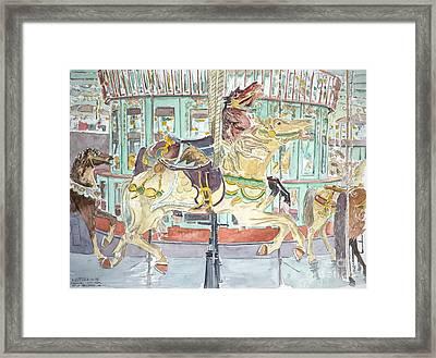 New Orleans Carousel Framed Print