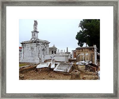 New Orleans Cemetary Framed Print