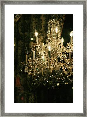 New Orleans Chandelier Framed Print by Heather Green