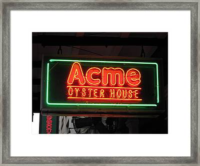 New Orleans - City At Night - 121225 Framed Print by DC Photographer