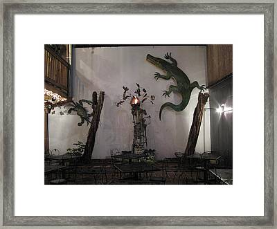 New Orleans - City At Night - 121229 Framed Print by DC Photographer