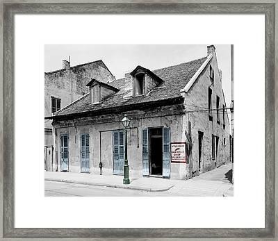 New Orleans Cobbler Framed Print