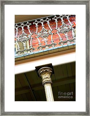 New Orleans Column Framed Print by Carol Groenen