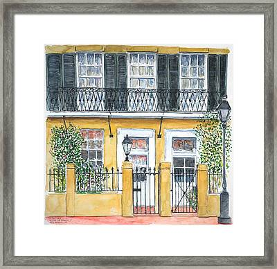 New Orleans Dauphine Street Framed Print by Anthony Butera
