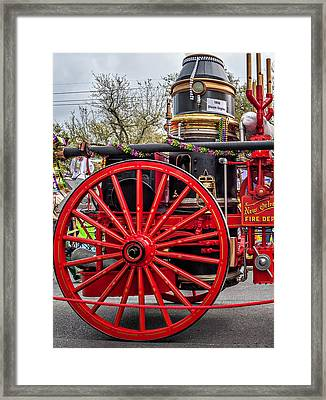 New Orleans Fire Department 1896 Framed Print