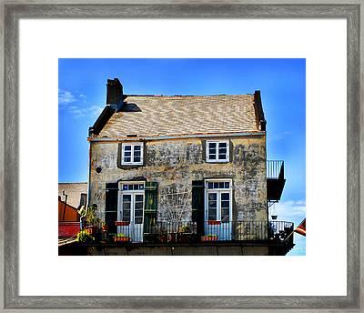 New Orleans Home Framed Print