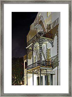 New Orleans Hot Summer Night Framed Print by Christine Till