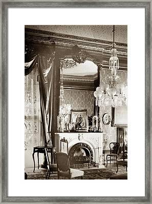 New Orleans House, C1930 Framed Print