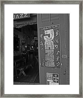 New Orleans Jazz Framed Print