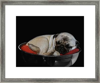New Orleans Jazz Made Her Dreamy Framed Print