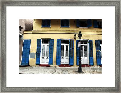 New Orleans Framed Print by John Rizzuto