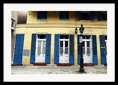 New Orleans Collection Framed Prints