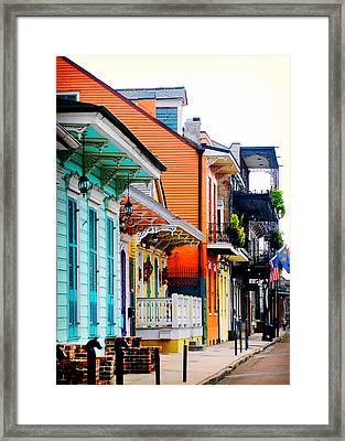 New Orleans Living Framed Print