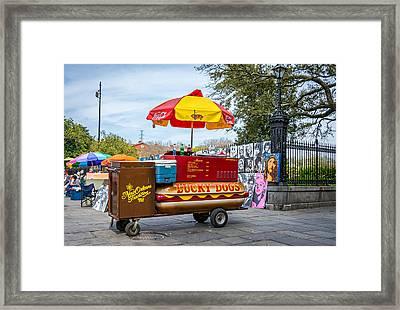 New Orleans - Lucky Dogs  Framed Print