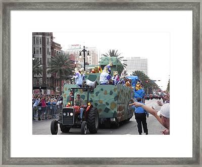 New Orleans - Mardi Gras Parades - 121214 Framed Print