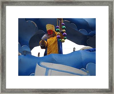 New Orleans - Mardi Gras Parades - 121224 Framed Print by DC Photographer