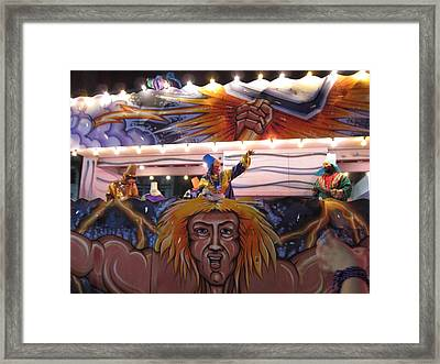 New Orleans - Mardi Gras Parades - 121251 Framed Print by DC Photographer