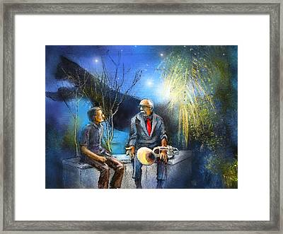 New Orleans Nights 02 Framed Print by Miki De Goodaboom