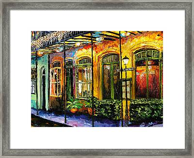 New Orleans Original Painting Framed Print by Beata Sasik