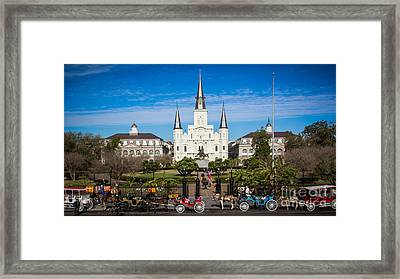 New Orleans Framed Print by Perry Webster