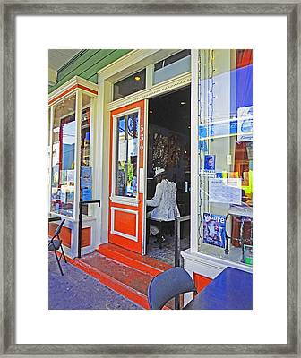 New Orleans Piano Framed Print